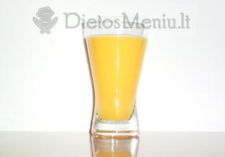 Apelsinų sultys, be cukraus