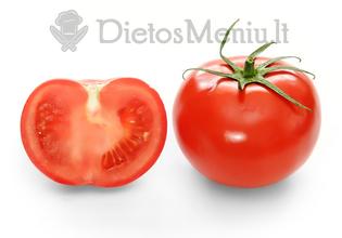 Pomidoras, raudonas