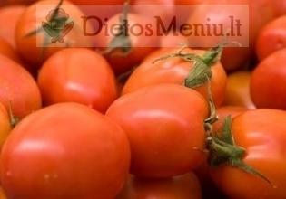 Pomidoras, raudonas, slyvinis