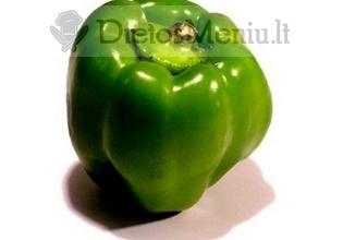 Paprika, saldžioji, žalia