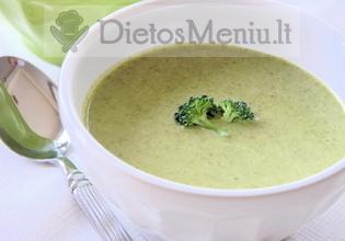 Trinta vištienos ir brokolių sriuba