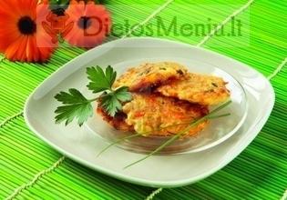 Bulvių ir morkų blynai