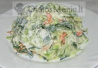 Kopūstų salotos su majonezu