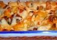 Makaronų apkepas su morkom ir sūriu
