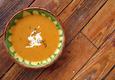 Pikantiška sriuba su poru ir morka