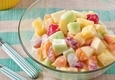 Vaisių salotos su jogurtu