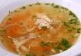 Vištienos su makaronais sriuba