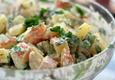 Bulvių salotos su pomidorais