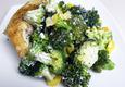 Virtos vištienos šlaunelės su brokoliais