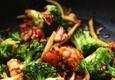Kepta vištienos file su daržovėmis
