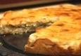 Kopūstų ir grybų pyragas