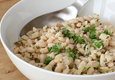 Silkės ir pupelių salotos