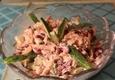 Tuno salotos su konservuotomis pupelėmis